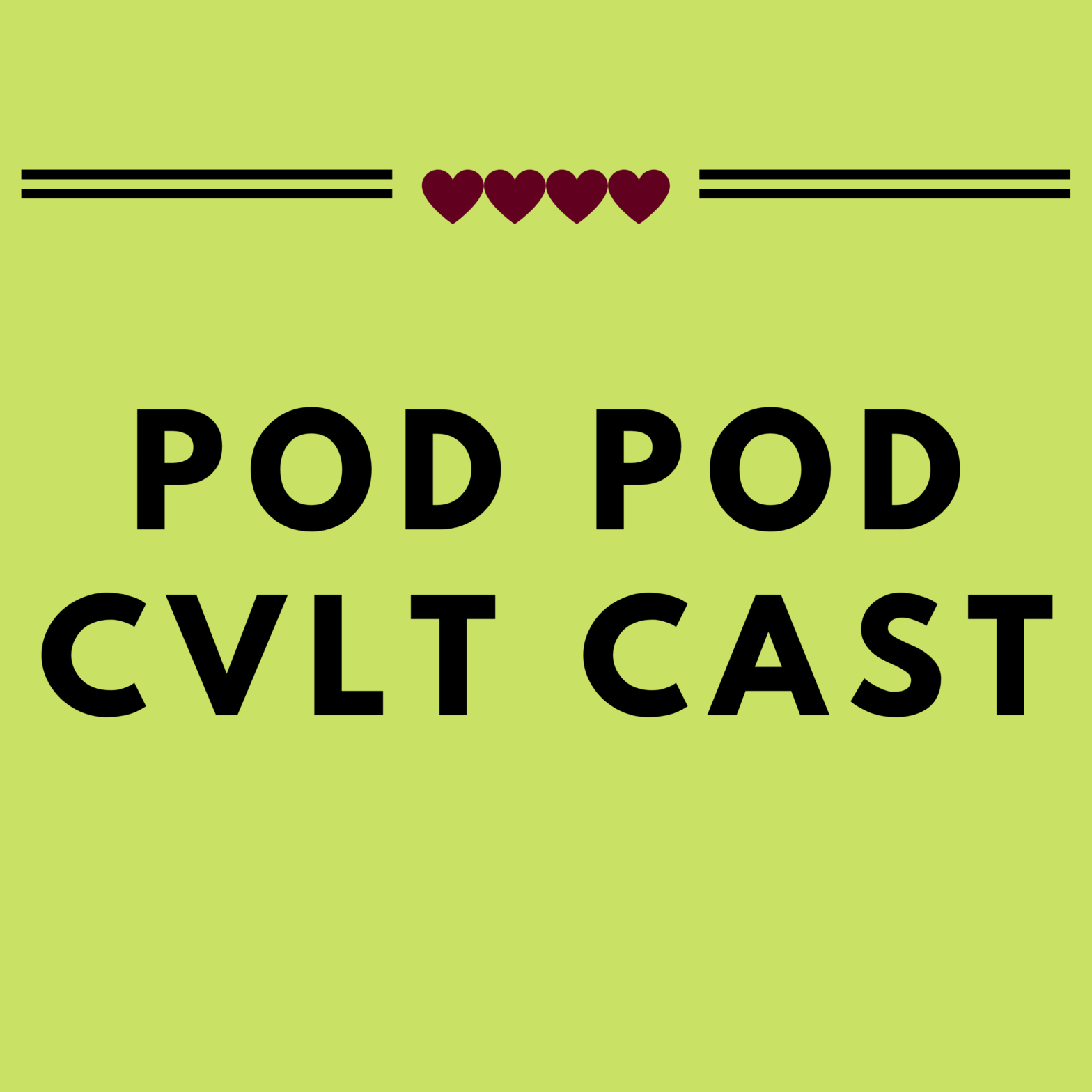 PodPodCvltCastCover podcast about polyamory/kink life, love, learning and libido